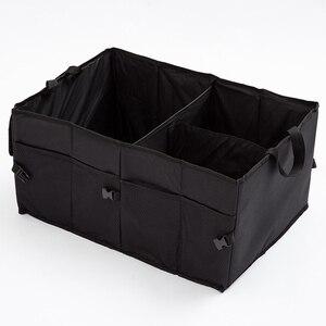 Image 2 - Folding Car Storage Box Trunk Bag Vehicle Toolbox Rear Boot Multi use Tools Tidy Organizer Shopping Bags