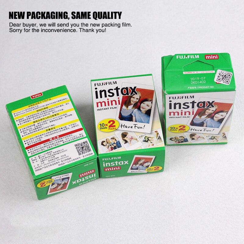 Fujifilm instax mini 9 Instantanea Caméra 10*2 Film Papier Caméra Sac 36 pcs album Photo Fujifilm Instax Mini 8 Version mise à jour - 5
