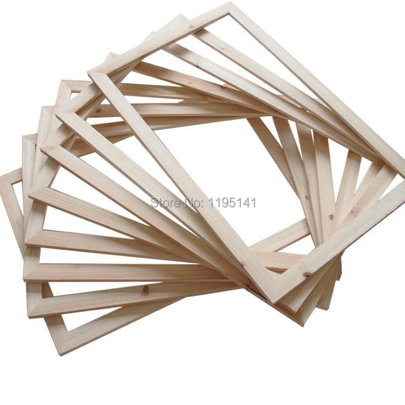 hot sale pine wood stretcher bars for 12x20 canvas oil painting frame diy photo picture frame. Black Bedroom Furniture Sets. Home Design Ideas