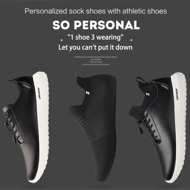 Fitness Gloves Onemix Men Running Shoes For Women Black Microfiber Leather Jogging Sneakers Outdoor Sport Socks Shoes Walking Socks Trainers Pens, Pencils & Writing Supplies