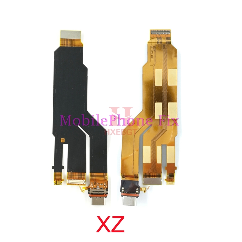 USB Charging Port Flex Cable For Sony Xperia XZ F8331 F8332 USB Charger Dock Connector Board Parts