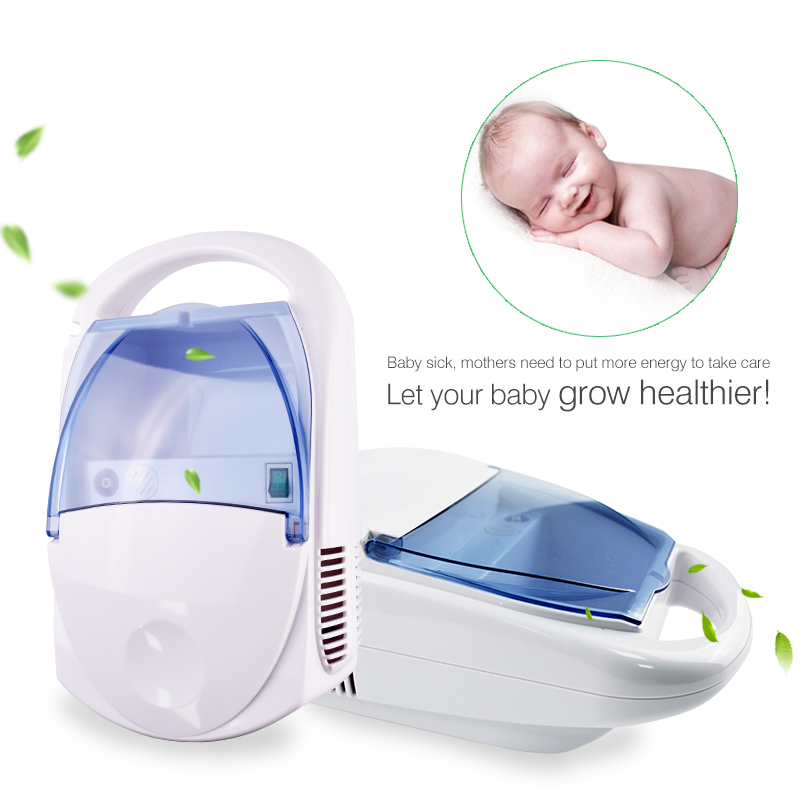 Family Compressor Nebulizer Children Adult Health Care Allergy Relief Respiratory Medicine Inhaler Aerosol Medication Therapy no–talk therapy for children