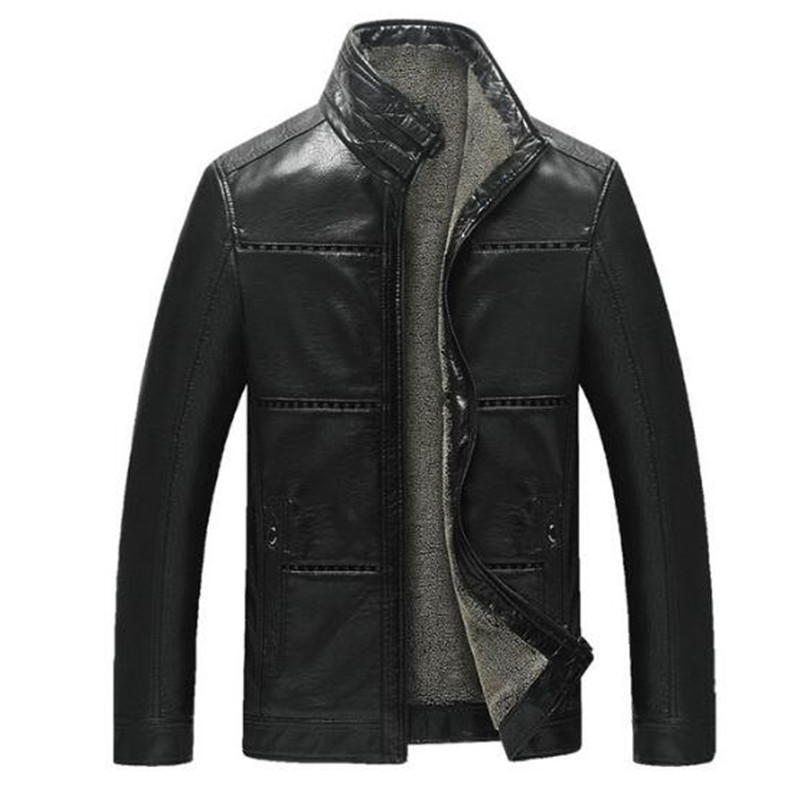 Popular Fleece Lined Leather Jacket-Buy Cheap Fleece Lined Leather ...