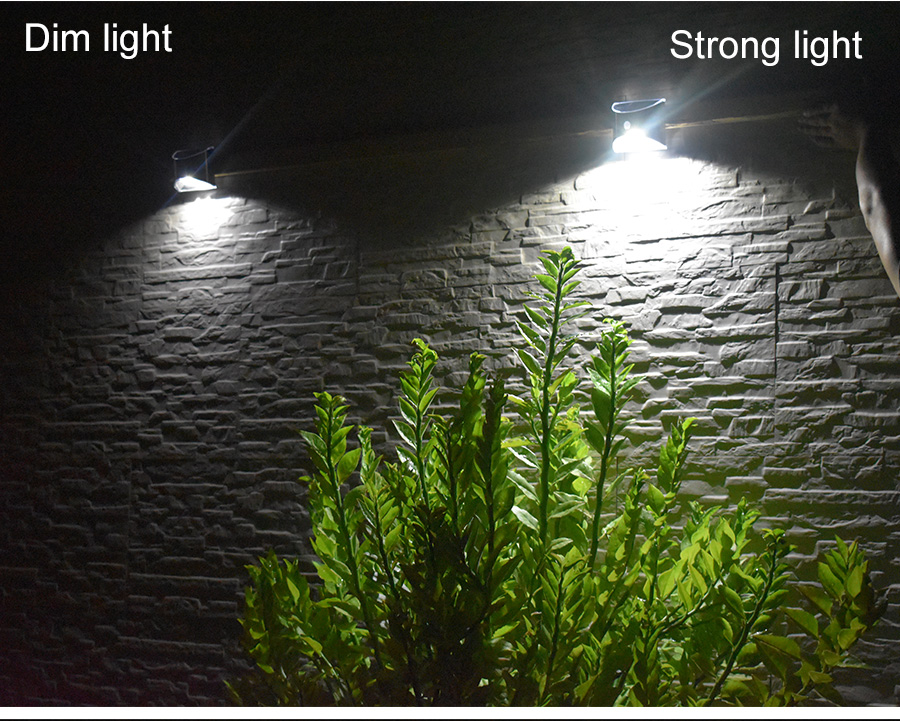 Waterproof Solar Outdoor Light with 4 LED and Motion Sensor Powered by Sunlight for Garden and Garage 13