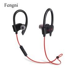 SweatProof Esportes fone de Ouvido Sem Fio Bluetooth Fone de Ouvido Estéreo Fones de Ouvido Fone de Ouvido Baixo Fones De Ouvido com Microfone para iPhone 6 8 Samsung Telefone