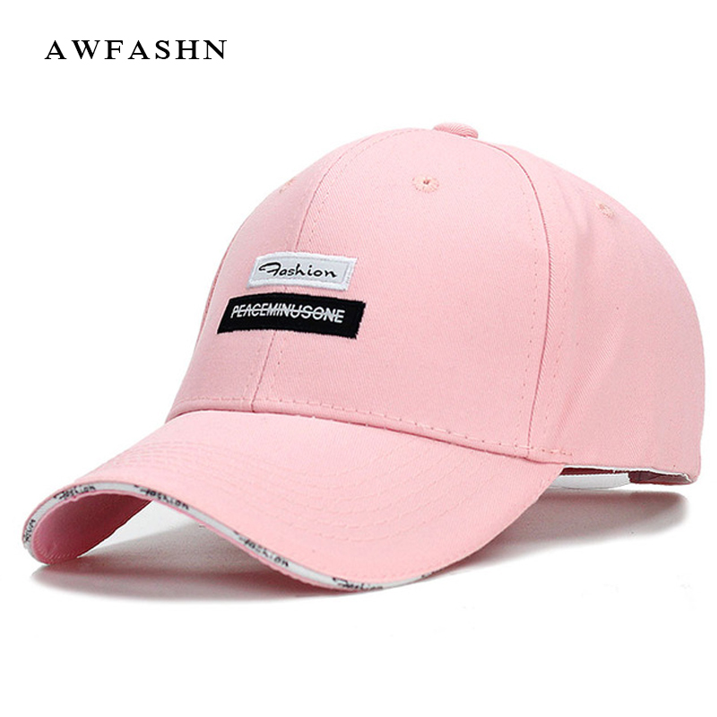 Women's Baseball Caps fashion golf baseball cap women female hat  pink dad girl hat white polo cap golf cap clip golf ball marker set