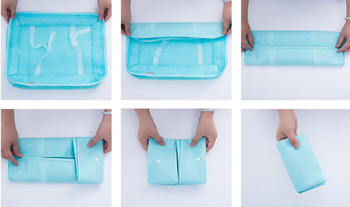 8pcs/set travel organizer bag high