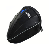 Motorcycle Motorbike Leather Tank Bag Tail Waterproof Luggage Riding Tribe Travel Top Case