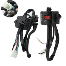 Motorcycle left and right GN125 GS125 Clutch Lever Brake Switch Handle Grip Switch for Suzu