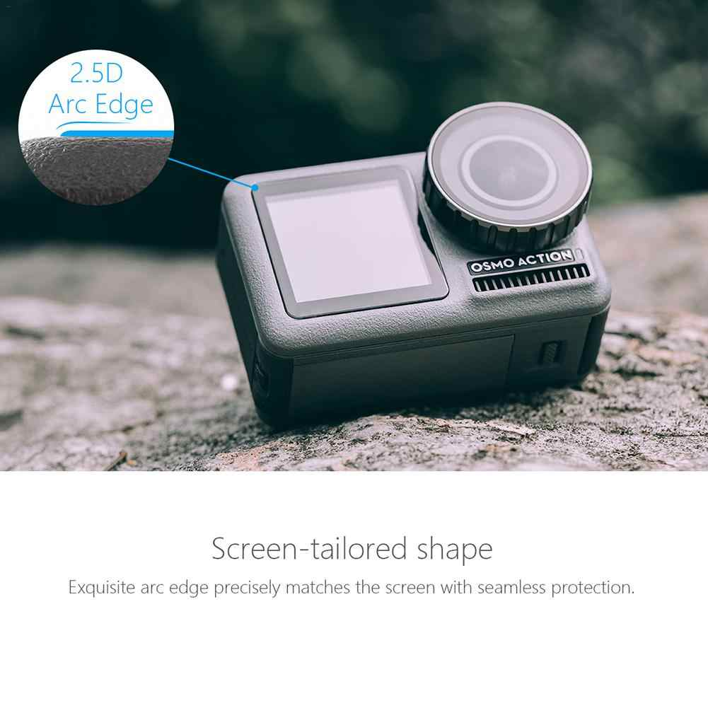 Scratch-Resistant Tempered Glass Screen Lens Protective Film for DJI OSMO Action Camera Accessories