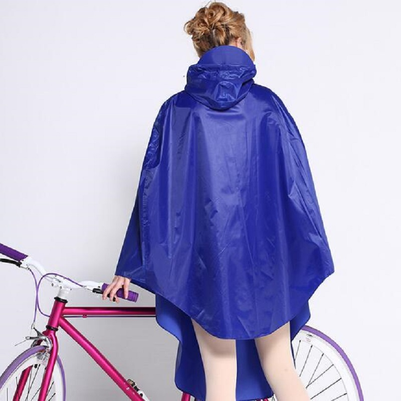 Women Raincoat Professional Adult Fashion Bike Rain Poncho Women
