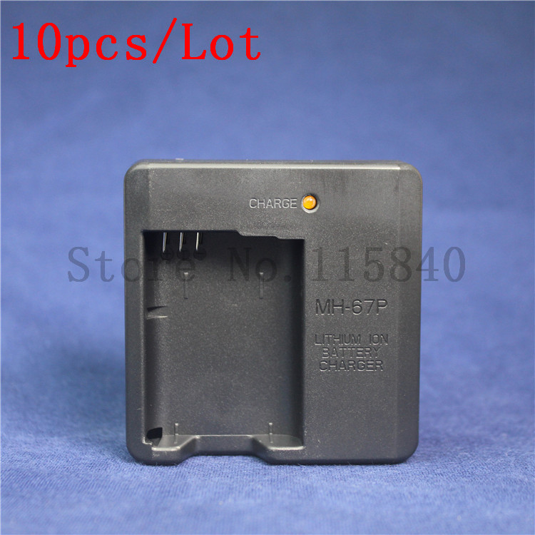 10pcs lot MH 67P MH 67P MH67P Battery Charger for Nikon Camera COOLPIX P600 S810c EN