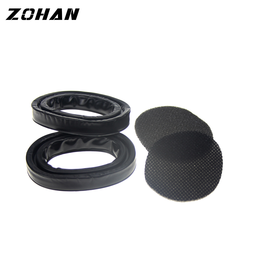 Image 3 - ZOHAN One Pair Silica Gel Ear Pads for 3M Peltor Earmuffs ZOHAN Replacement Ear Cushion Kit for Ear Defenders ProtectionEar Protector   -