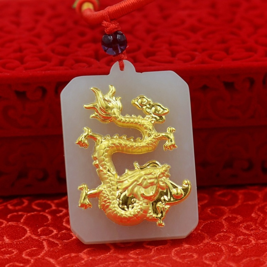 2018, we will sell natural luck goddess, male and female pendant necklace.