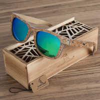 BOBO oiseau polarisé en bois bambou lunettes de soleil hommes Top marque Design Original UV protection lunettes de soleil Oculos de sol mas