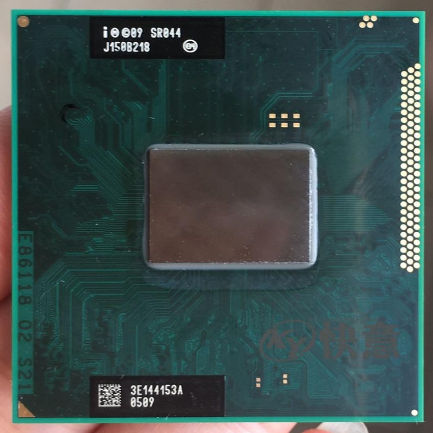 Free shipping Original Intel Core i5 2540M Mobile SR044 2 6GHz 3MB Socket G2 CPU Processor