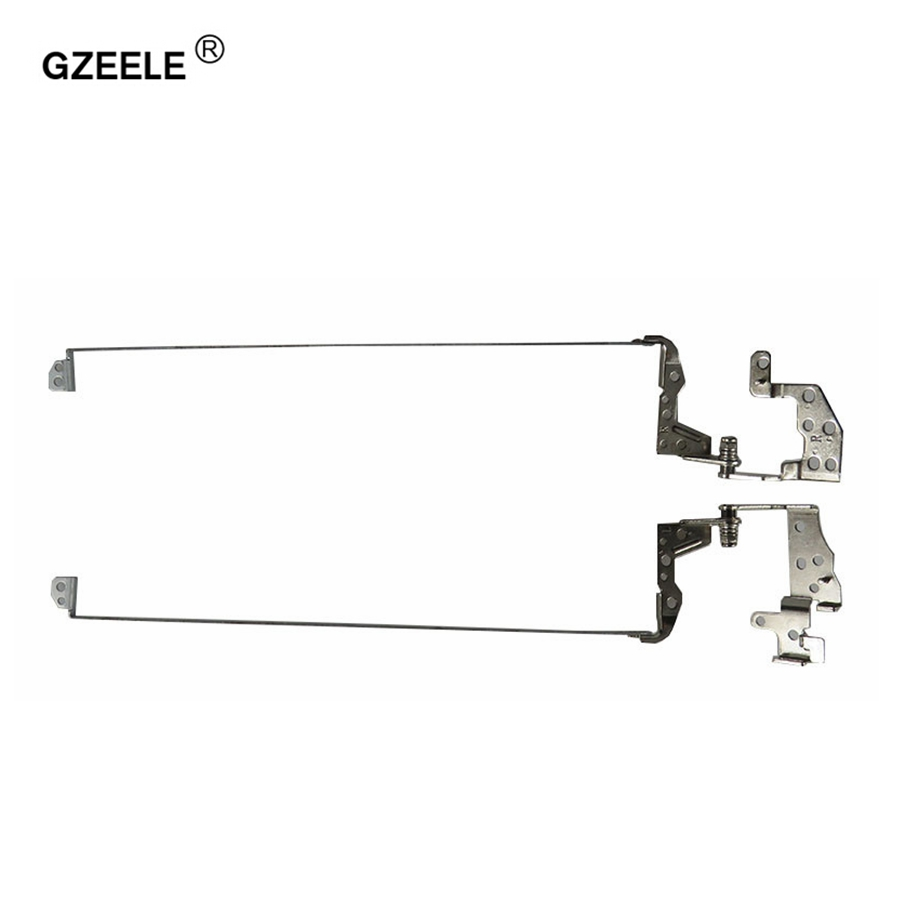 GZEELE Hot Selling! New Laptop Hinge For HP Pavilion 15-D 250 G2 255 G2 15-D000 15-A Screen Lcd Hinges Bracket 747120-001 L&R