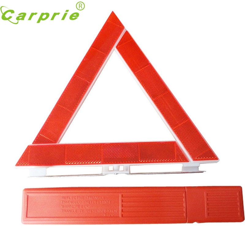 2017 car-stying New Arrival Car Breakdown Emergency Reflective Road Warning Triangle handy safety styling oct19
