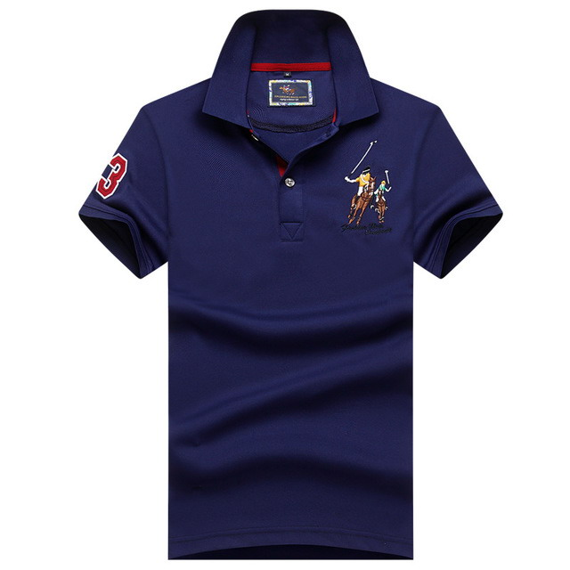 Hot Sale 2019 Tops&Tees Men's   Polo   shirts Business men brands   Polo   Shirts 3D embroidery   polo   shirt men Fashion   polo   homme 315