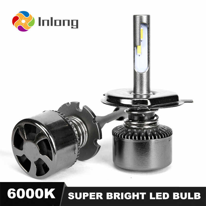INLONG With SAMSUNG Chips Mini H7 LED H4 16000LM D4S H1 H8 H11 9005 D3S 9006 HB4 D1S Car Led Headlight Bulb 6000K Fog Lights 12V
