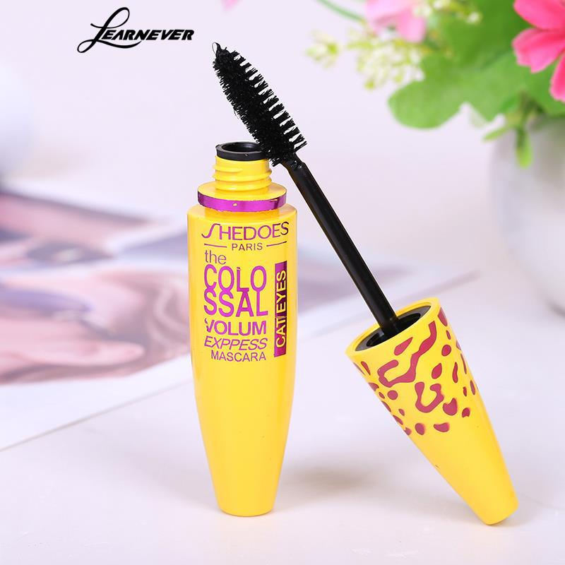 Image 3 - 1pc Makeup Mascara Eyes 3D Fiber Lashes Volume Cosmetic Makeup Extension Length Long Curling Black 3D Mascara Eye Lashes Tools-in Mascara from Beauty & Health
