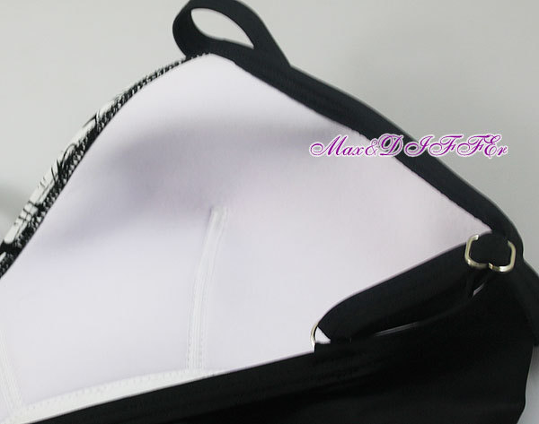 Sexy schwarz weiße Blume One Piece MONOKINI BADEANZUG BADEANZUG - Sportbekleidung und Accessoires - Foto 4