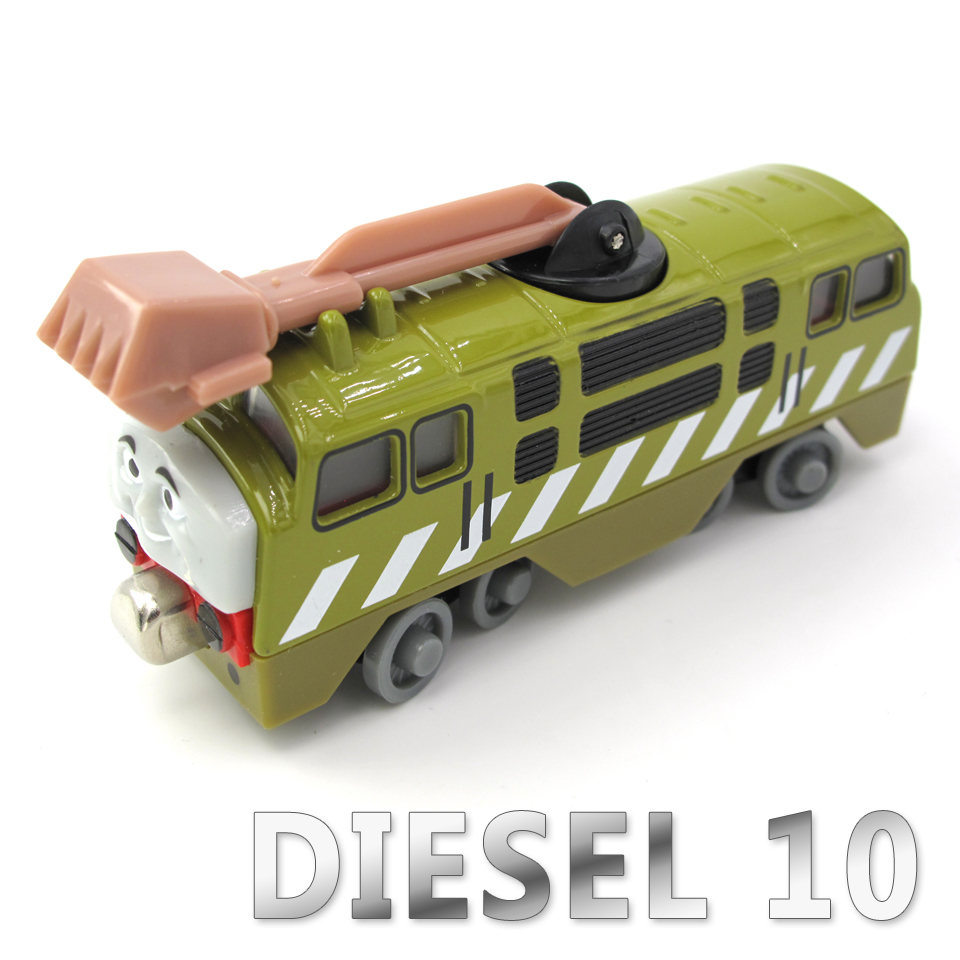 Diecasts Vehicles Thomas T040D DIESEL 10 Thomas And Friends Magnetic Tomas Truck Locomotive Engine Railway Train Toys for Boys