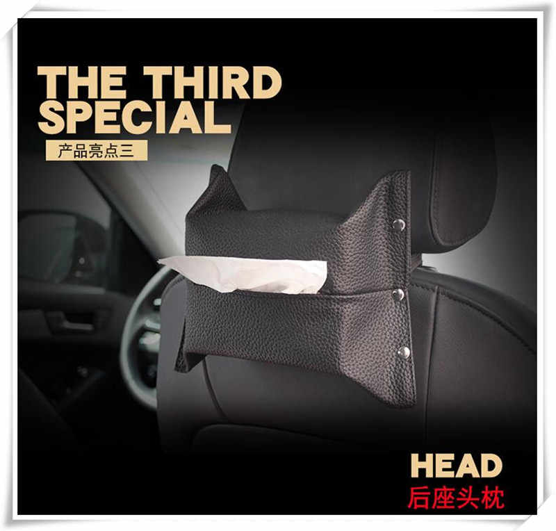 Araba styling Yüksek kalite deri araba Doku Kutusu Saklama Torbaları Jeep Grand Cherokee/Pusula/Komutanı/Wrangler /Rubicon/SAHALA