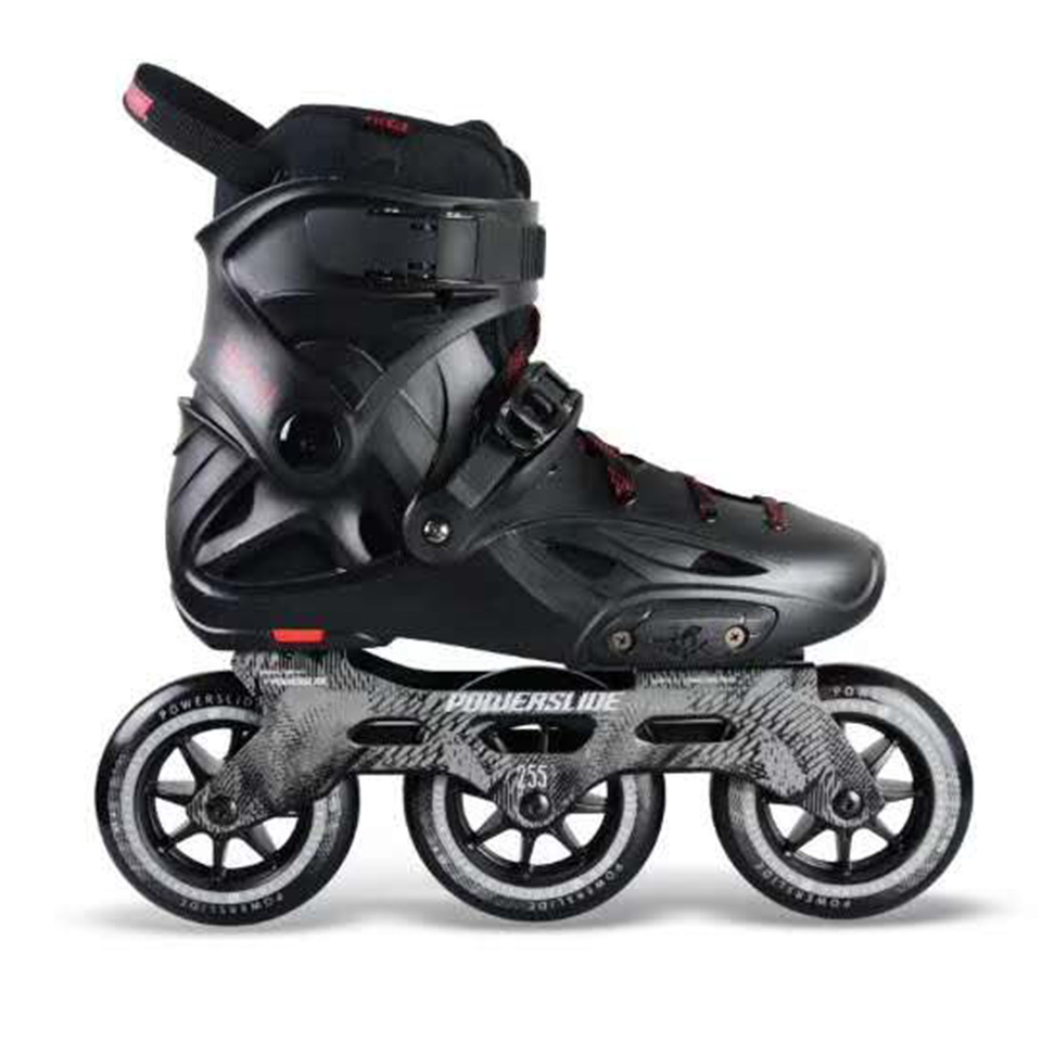 100% D'origine Powerslide Impériale 3*110mm Vitesse roller-skates Rue Rouleaux Adulte chaussures de patinage Patinage Libre Patines Adulto