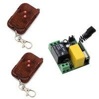New AC 220 V AC Mini Chuyển Đổi Từ Xa Đầu Ra Đầu Vào 220 V Learning Mã RF Chuyển Đổi Không Dây Đài Transmitter Receiver 315/433 Mhz