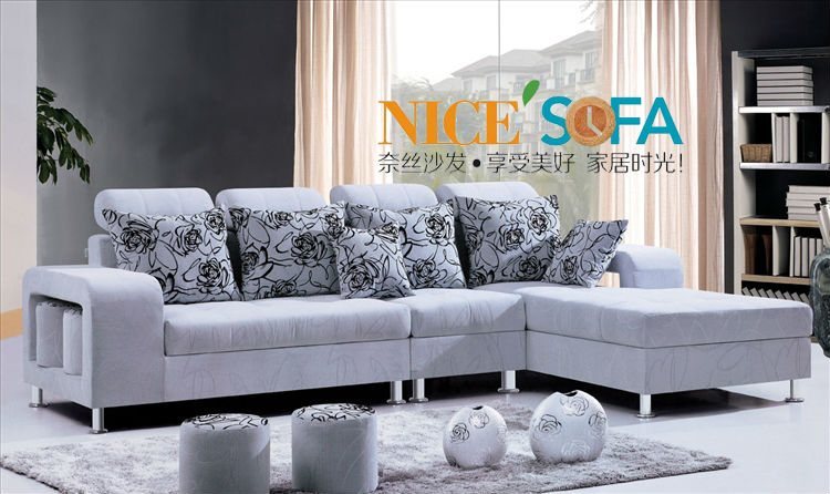 Bon Ikea Style Fabric Sofa For Living Room 948 2# In Living Room Sofas From  Furniture On Aliexpress.com | Alibaba Group