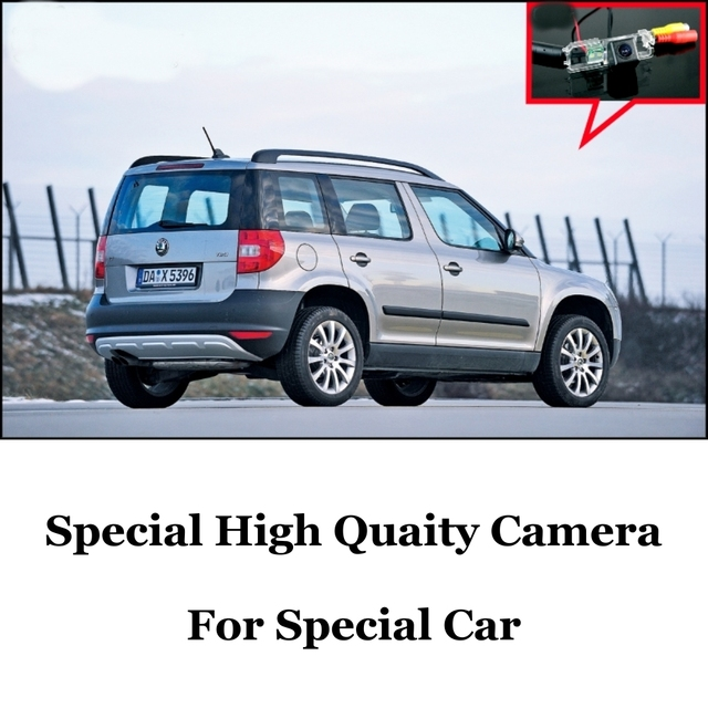 Car Camera For Skoda Yeti 5D SUV 2010~2014 Ultra HD reversing camera automobile rearview imag For Fans | CCD + RCA