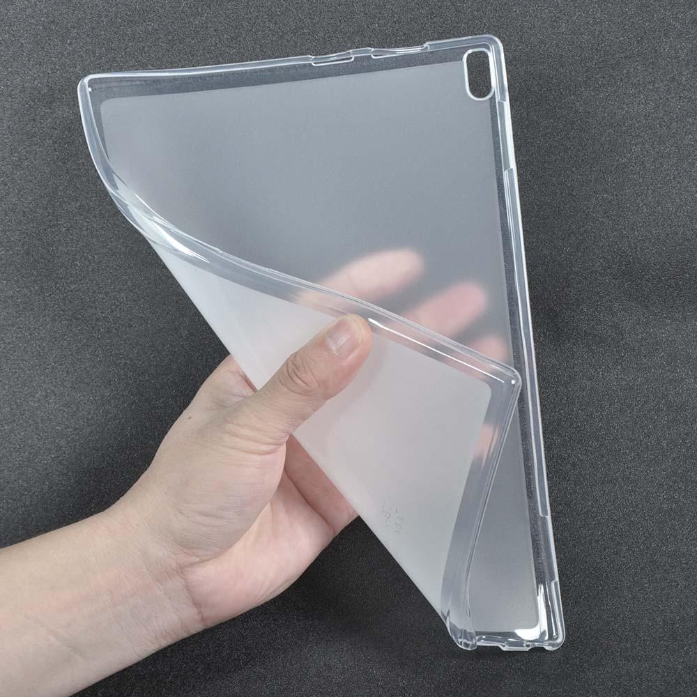 Pour Lenovo TAB4 10 Plus Retour Soft Case TPU Couverture Shell pour Lenovo TAB4 10 Plus TB-X704N TB-X704F 10.1 pouces Tablet Cas + Stylet