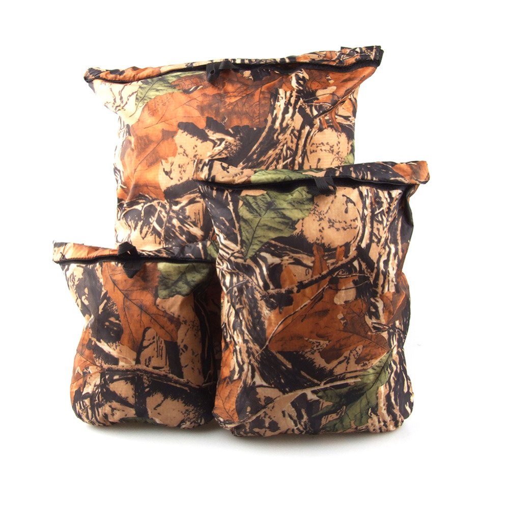 3pcs/lot Blue Camouflage Ultra-light Waterproof Dry Bag Storage Bags For Canoe Kayak Rafting Outdoor Sports