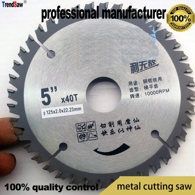 Vaak Metalen saw cirkel zaagblad zagen voor hout metaal staal al LE15