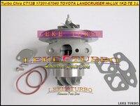 Turbo Patrone Chra Core CT12B 17201-67040 17201 67040 Für TOYOTA LANDCRUISER LAND CRUISER 4 Runner HALLO-LUX 1KZ-TE KZN130 3.0L