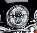 Harley Motorcycle Chrome 7 in. Daymaker Projector LED Headlamp Headlight For Harley FLS, FLSTC, FLSTF FLSTFB FLSTN Touring Trike
