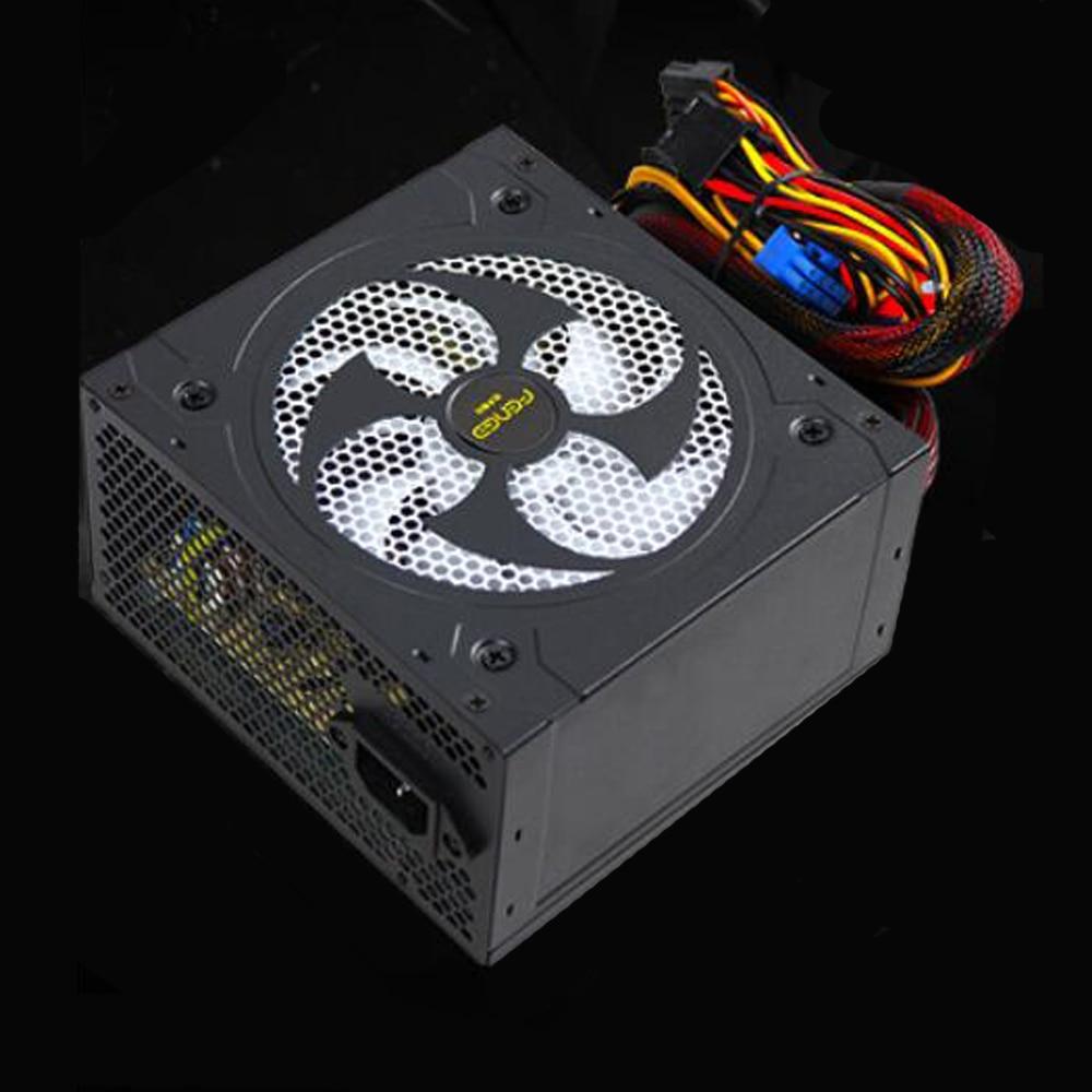 180 V-270 V Max 500W alimentation Psu 12Cm Pfc ventilateur silencieux 20PIN 4PIN 12V Pc ordinateur Sata Gaming Pc alimentation pour Intel pour Amd