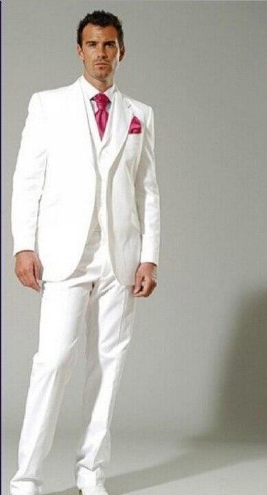 5fb2aad58 Trajes de boda para hombre color blanco – Vestidos de noche