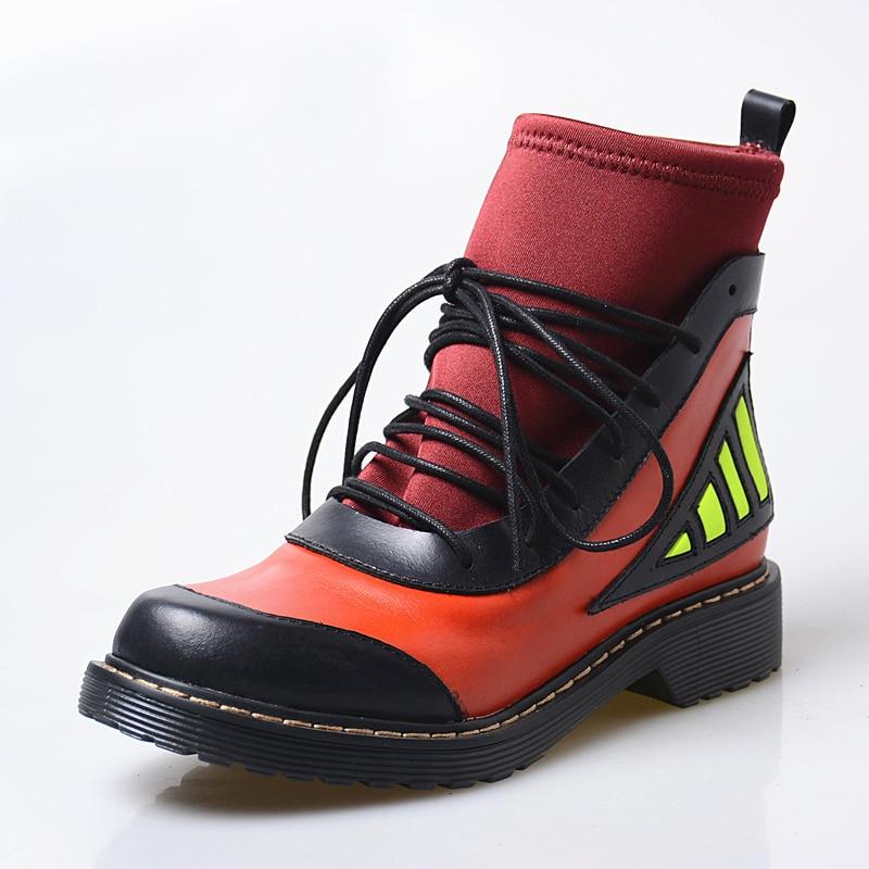 Und Boden Stretch Starke pink Frauen Stiefel Socke Neue Herbst Leder Winter Prova Spitze slivery Kurze Perfetto Elastische Ankle Black up 2018 IwxTq4B
