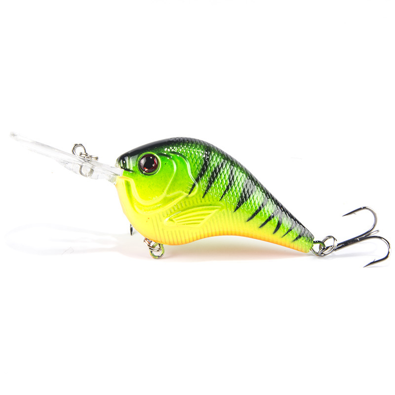 1PCS Fishing Lure Deep Swimming Crankbait 9.5cm 11g Hard Bait 5 Colors Available Tight Wobble Slow Floating Fishing Tackle