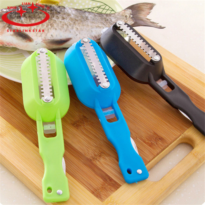 New fish scraper stainless steel clean fish knife for for Fish cleaning tools