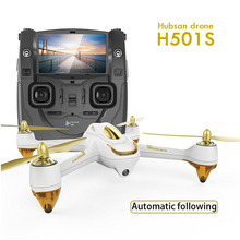 Hubsan H501S X4 FPV drone RC quadcopter 1080P camera GPS Follow me home return drones black and white one In stock Free shipping