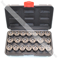 20pcs Wheel Screw Lock Socket Set For BMW For Anti-theft Socket Removal