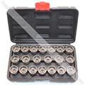 20pcs Wheel Screw Lock Socket Set For BMW For Anti-theft Socket Removal