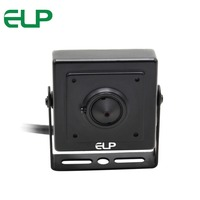 Black Aluminum Case 1 4 CMOS AHD Camera 3 7mm Lens OSD Menu Cctv Indoor ATM