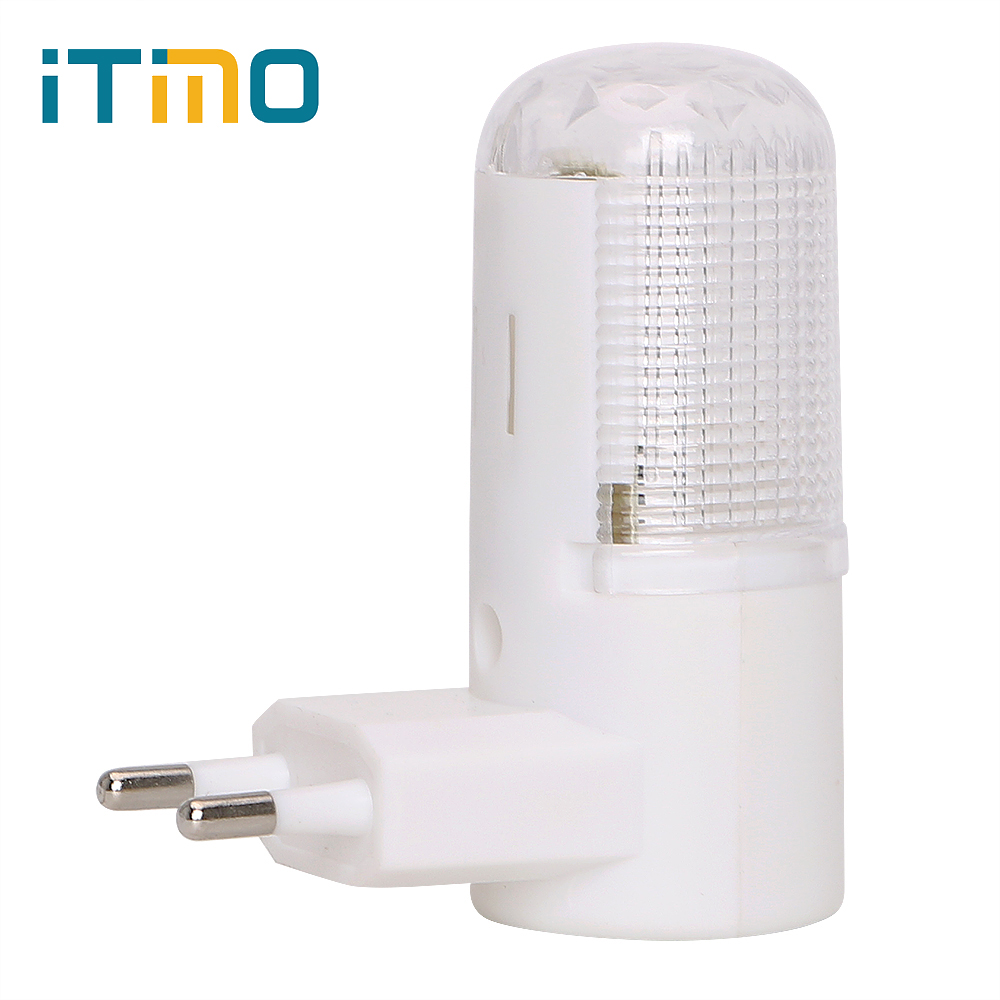 ITimo 4 LEDs EU Plug Wall Lamp Wall Mounted Home Lighting Energy-efficient 3W Bedside Lamp Emergency Light LED Night Light