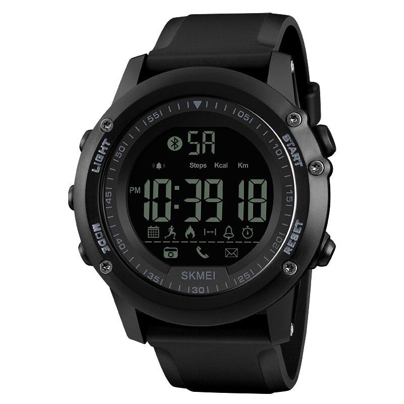 Skmei 1321 Männer Der Sport Smart Uhr Schrittzähler App Call Nachricht Erinnern Kalorien Bluetooth Armbanduhr Für Läufer Männlichen Digitale Uhr Ein Unbestimmt Neues Erscheinungsbild GewäHrleisten Uhren Digitale Uhren