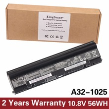 Kingsener Корея сотовый A32-1025 ноутбука Батарея для Asus Eee PC 1225 1215 1025 1025C 1025CE A31-1025 A32-1025 10.8 В 5200 мАч