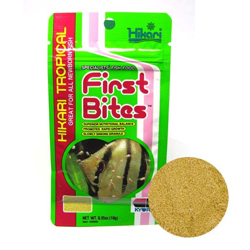 Hikari baby fish food first bite feed 10g japanese brand for Baby fish food
